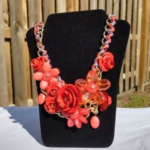 Rosy Pink - Red necklace